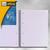 Clairefontaine Collegeblock, DIN A4, kariert, ohne Rand, blau, 80 Blatt, 8258C: Produktabbildung 2
