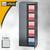 Bisley Office Flügeltürenschrank, 4 Böden, H1968 mm, lichtgrau, A782W2445-645: Produktabbildung 2