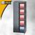Bisley Office Flügeltürenschrank, 4 Böden, H1968 mm, schwarz, A782W2433-633: Produktabbildung 2