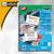 Sigel PC-Visitenkarten 3C, 85x55mm, 225 g/m², grau marmoriert, 100 Stück, DP742: Produktabbildung 2