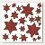 Fensterbild - Sterne rot:Produktabbildung 1