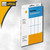 Herma Vielzweck-Etiketten, 52 x 82 mm, weiß, 128 St., 2490: Produktabbildung 2