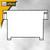 HAN Metallstützplatte Nr. 6 DIN A6 quer, braun, HAN-6: Produktabbildung 1