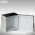 Philippi Aufbewahrungsbox Cube, 10x10x5.6cm, Nickel poliert mit Innenauskleidung: Produktabbildung 3
