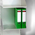 Ordnerregal mit 5 Fächern aus eloxiertem Aluminium:Produktabbildung 2