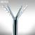 BST Stand-Garderobe TECHNIX - mit massiven Metallfuß: Produktabbildung 2
