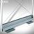 BST Schirmwanne OPLA - aus Aluminium: Produktabbildung 1