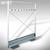 Schirmwanne OPLA - aus Aluminium:Produktabbildung 2