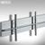 Garderobe TIBAR - für die Wand aus Aluminium:Produktabbildung 2
