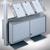 BST Prospektregal INTRO, 3 Ablagen je 4 x DIN A4 + Staufach mit Türen, INTRO: Produktabbildung 3