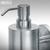 PRIMO - Seifenspender mit Wandhalter aus Edelstahl:Produktabbildung 2