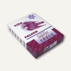 Falken Kopierpapier Universal, DIN A4, 80 g/m², weiß, 500 Blatt, superjet
