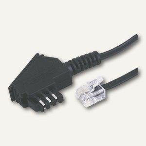 Hama TAE F-Kabel Universal, Modular-Stecker 6p4c, 6 m, 44821