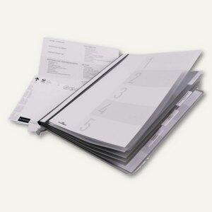Durable Personalhefter f. Hängeregistratur DIN A4, 5-fach, grau, 5 St., 2555-10