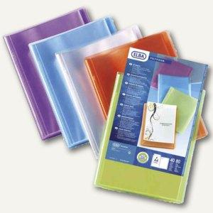 Elba Präsentations-Sichtbuch POLYVISION, 40 Hüllen, DIN A4, farblos, 100206232