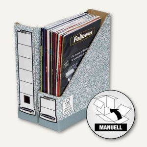 Bankers Box Archiv-Stehsammler