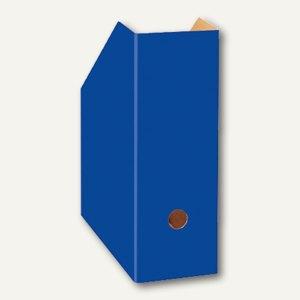 Landré Stehsammler aus Karton, DIN A4 extrabreit, blau, 100420029