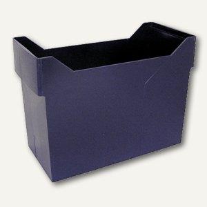 M&M Aktenboy, Registraturbehälter für 20 Hängemappen DIN A4, blau, 68370456SP