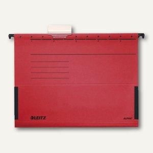 LEITZ Alpha Hängetaschen, DIN A4, rot, 25 Stück, 19860025
