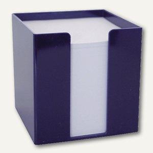 M&M Zettelbox, 95x95x95 mm, 700 Blatt, nachtblau, 69020356