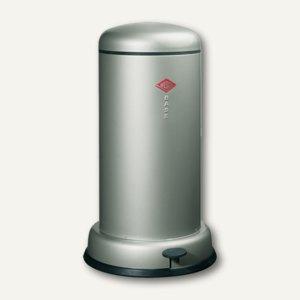 Wesco Tretabfallsammler ´Baseboy´, 20 Liter, neusilber, 135531-03