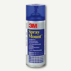 3M Sprühkleber Spray Mount, 400 ml Inhalt, ablösbar, 051847
