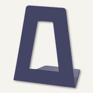 M&M Buchstütze aus Kunststoff, lose, blau, 2468-68418156