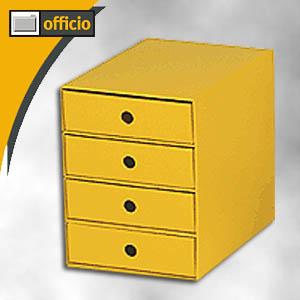 nips schubladenbox din a4 din b4 wellkarton 4 sch be gelb 112120108 b roartikel bei. Black Bedroom Furniture Sets. Home Design Ideas