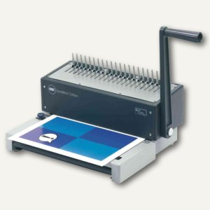 GBC Plastikbindegerät CombBind C150Pro, manuell, 360x300x210mm, 450 Bl.,IB271106