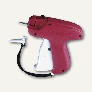 Anschießpistole für Anhängeschilder mit Anschießfäden