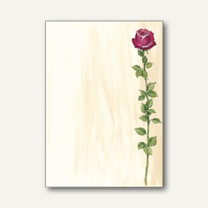 "Sigel Motiv-Papier ""Rose Bloom"", DIN A4, 90 g/m², 25 Blatt, DP695"