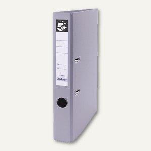 officio Kunststoff-Standardordner, Rückenbreite 47 mm, grau, 21473