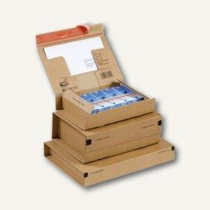 ColomPac Versandkarton, Größe A4, 305 x 212 x 110 mm, braun, 20er Pack,CP 067.04