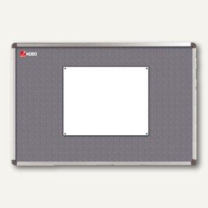 "Nobo Textiltafeln ""Elipse"", 120 x 90 cm, grau, 1900912"