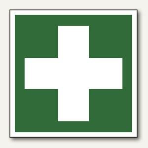 "smartboxpro Rettungswegschildfolie - ""Erste Hilfe"", 100 x 100 mm, 245182610"