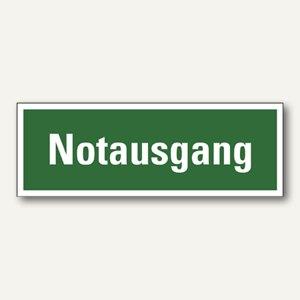 """smartboxpro Rettungswegschild """"Notausgang"""", 297 x 105 mm, 245185410"""