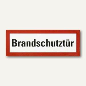 "smartboxpro Feuerwehrschildfolie - ""Brandschutztür"", 297 x 105 mm, 245142110"