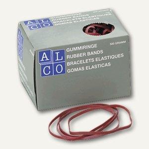Alco Gummibänder, 130 x 4 mm, 500 g/Karton, 755