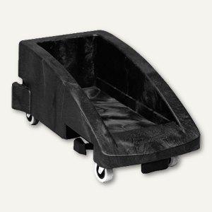 Rubbermaid Fahrwagen für Slim Jim, 595x381x275mm, schwarz, 3551-88-BLA