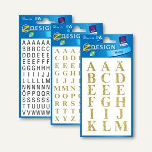 Artikelbild: Z-Design Buchstabenetiketten