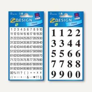 Artikelbild: Z-Design Zahlen-Sticker