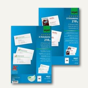 Artikelbild: Visitenkarten 3C für Inkjet-Drucker