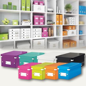 Artikelbild: CD/DVD-Ablageboxen Click & Store WOW