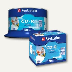 Artikelbild: CD-R Rohlinge AZO Wide Inkjet Printable