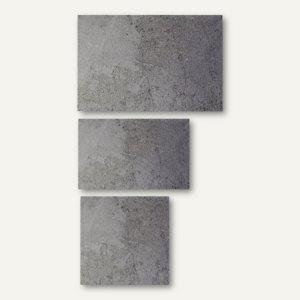 Artikelbild: Magnetische Glastafeln in Beton-Optik