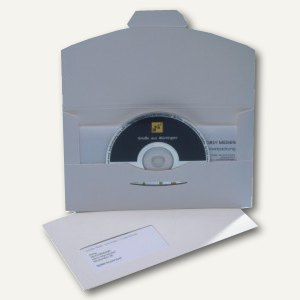 Versandkuverts DiscMail CD1 m. Fenster links