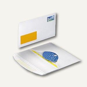 Versandkuverts DiscMail CD10 mit Fenster, selbstklebend, 50 Stück, 21021-2