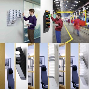 Artikelbild: Wand-Prospekthalter Serie FLEXIBOXX