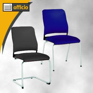 Artikelbild: Besucherstühle der Serie Avantgarde up