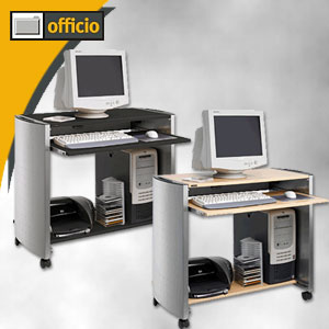 Artikelbild: Design-Computertische - (H)820 x (B)985 x (T)440 mm